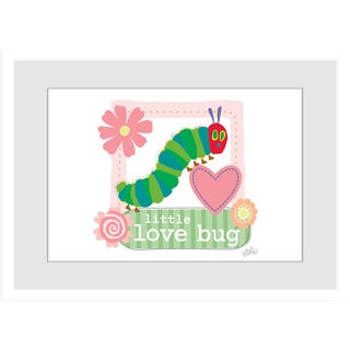 Marmont Hill - Little Love Bug by Eric Carle Painting on Framed Print