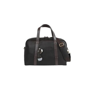 Goodhope Oxford Leather 18-inch Classic Leather Carry On Duffel Bag
