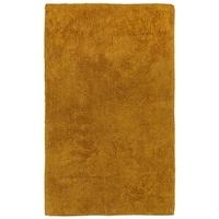 Plush Pile Gold 21 X34 Bath Rug