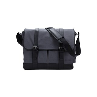 Goodhope Canvas Vintage City 15-inch Laptop Messenger Bag