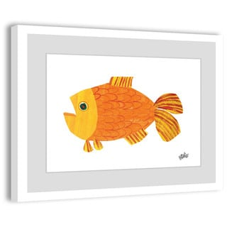Marmont Hill - Goldfish by Eric Carle Painting on Framed Print