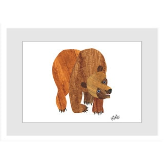 Marmont Hill - Front Cover Brown Bear by Eric Carle Painting on Framed Print