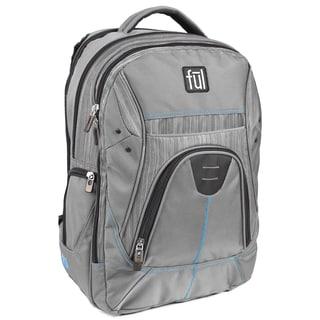 Ful Gung-Ho Grey 15-inch Laptop Backpack