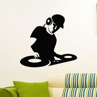 DJ EDM Vinyl Wall Art Decal Sticker