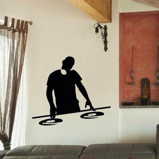 DJ Music Inspirational Vinyl Wall Art Decal Sticker
