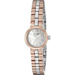 Kate Spade Women's 1YRU0800 'Tiny Gramercy' Rose-Tone Stainless Steel Watch