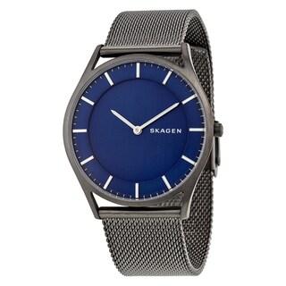Skagen Men's SKW6223 'Holst Slim' Black Stainless Steel Watch