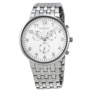 Skagen Men's SKW6231 'Anchel' Chronograph Stainless Steel Watch