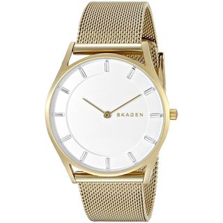 Skagen Women's SKW2377 'Holst Slim' Gold-Tone Stainless Steel Watch