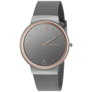 Skagen Women's SKW2382 'Freja' Stainless Steel Watch|https://ak1.ostkcdn.com/images/products/10792853/P17840106.jpg?impolicy=medium