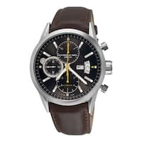 a7a01c00a56 Raymond Weil Men s 7730-STC-20101  Freelancer  Chronograph Automatic Brown  Leather Watch
