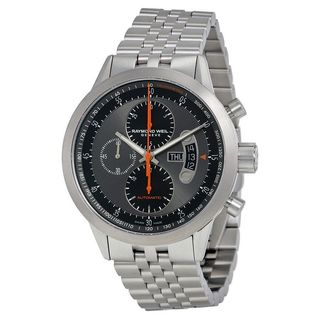 Raymond Weil Men's 7745-TI-05609 'Freelancer' Chronograph Automatic Stainless Steel Watch