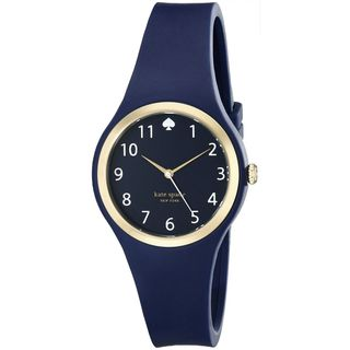 Kate Spade Women's 1YRU0650 'Rumsey' Blue Silicone Watch