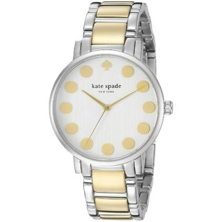 Kate Spade Women's 1YRU0738 'Gramercy' Two-Tone Stainless Steel Watch