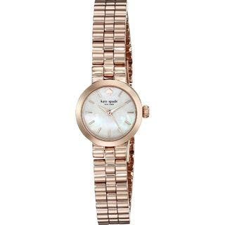 Kate Spade Women's 1YRU0799 'Tiny Gramercy' Rose-Tone Stainless Steel Watch|https://ak1.ostkcdn.com/images/products/10792897/P17840085.jpg?impolicy=medium