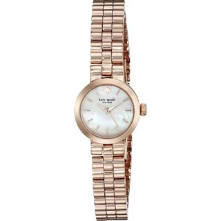Kate Spade Women's 1YRU0799 'Tiny Gramercy' Rose-Tone Stainless Steel Watch