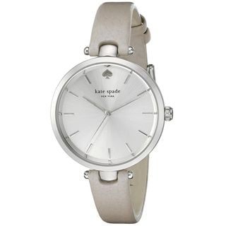 Kate Spade Women's 1YRU0813 'Holland' White Leather Watch