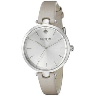 Kate Spade Women's 1YRU0813 'Holland' White Leather Watch|https://ak1.ostkcdn.com/images/products/10792901/P17840089.jpg?impolicy=medium
