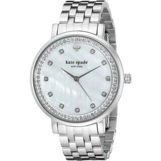 Kate Spade Women's 1YRU0820 'Monterey' Crystal Stainless Steel Watch