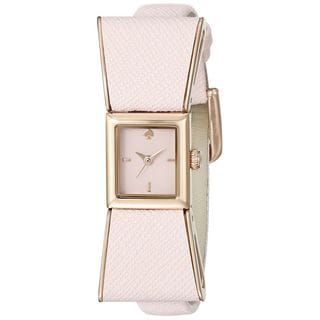 Kate Spade Women's 1YRU0901 'Kenmare' Pink Leather Watch