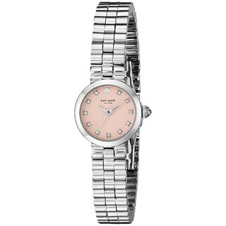 Kate Spade Women's 1YRU0920 'Tiny Gramercy' Crystal Stainless Steel Watch