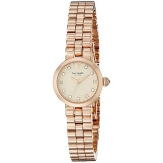 Kate Spade Women's 1YRU0921 'Tiny Gramercy' Crystal Rose-Tone Stainless Steel Watch