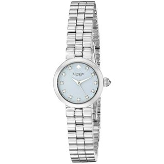 Kate Spade Women's 1YRU0922 'Tiny Gramercy' Crystal Stainless Steel Watch