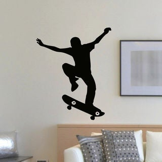 Skateboarder Skateboarding Vinyl Wall Art Decal Sticker