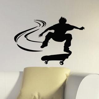 Skateboarding Vinyl Wall Art Decal Sticker