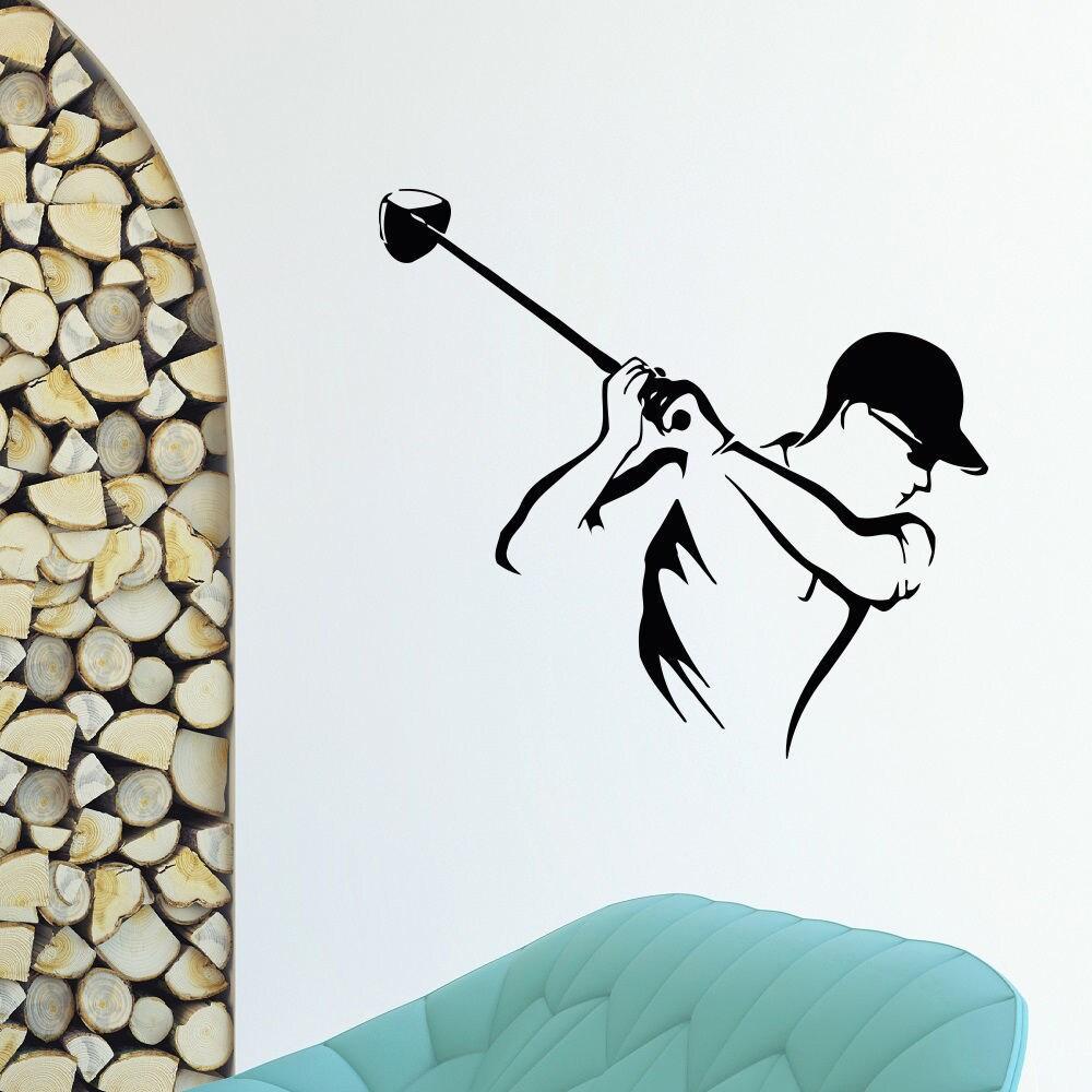 Golf Swing Club Vinyl Wall Art Decal Sticker (26 inches x...