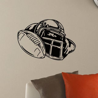 Helmet American Football Vinyl Wall Art Decal Sticker