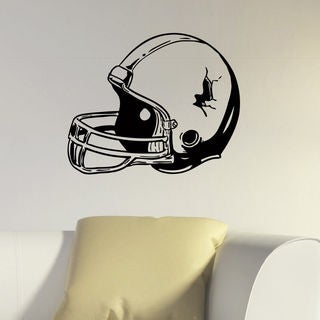 Football Helmet Vinyl Wall Art Decal Sticker