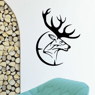 Deer Hunting Vinyl Wall Art Decal Sticker