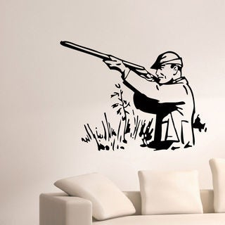 Hunting Hunter Vinyl Wall Art Decal Sticker