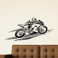 Sport Bike Motorcycle Vinyl Wall Art Decal Sticker