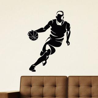 Basketball Player Vinyl Wall Art Decal Sticker