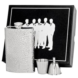 Visol Golfer Stainless Steel Legion II Flask Gift Set - 8 ounces