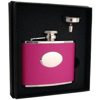 Visol Britney Hot Pink Essential III Flask Gift Set - 4 ounces
