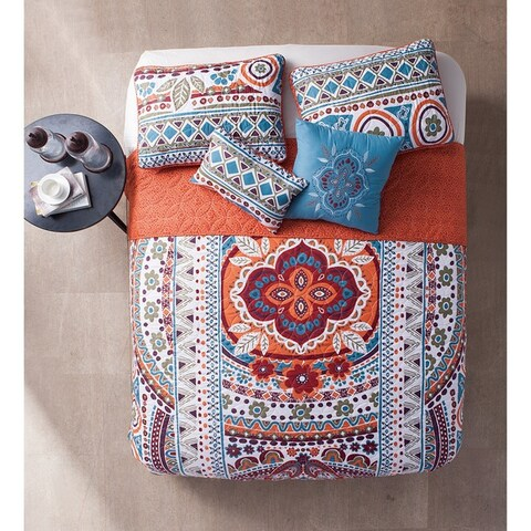 VCNY Natasha 5-Piece Reversible Quilt Set