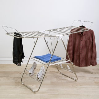 Heavy Duty Stainless Steel Laundry Drying Rack by Everyday Home