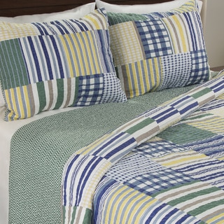 Link to Windsor Home Lyla 3-piece Quilt Set Similar Items in Bed-in-a-Bag