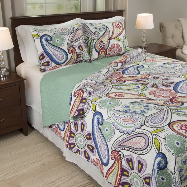 Windsor Home Leslie 3-piece Quilt Set