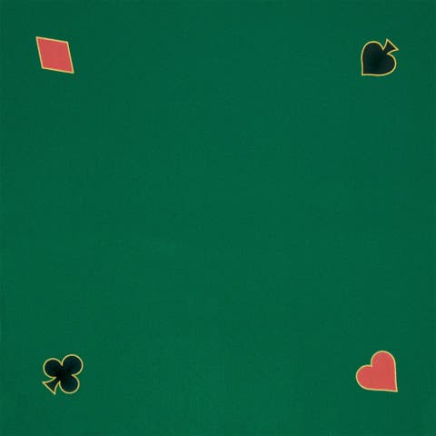 40x40 Green Playing Felt