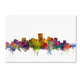 Michael Tompsett 'Richmond Virginia Skyline' Canvas Wall Art