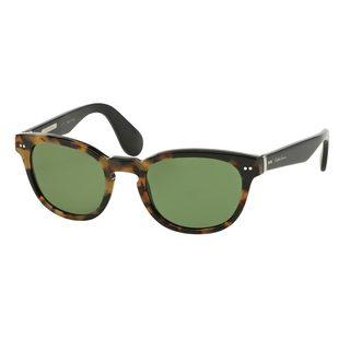 Ralph Lauren Men's RL8130P Tortoise Plastic Phantos Sunglasses