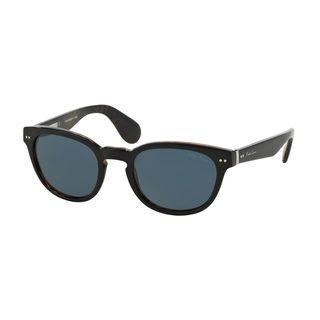 Ralph Lauren Men's RL8130P Black Plastic Phantos Sunglasses