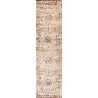 Contessa Ivory/ Multi Runner Rug (2'7 x 12'0)