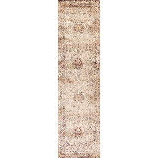 Contessa Ivory/ Multi Runner Rug (2'7 x 12'0)