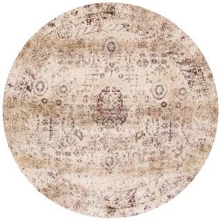 Contessa Ivory/ Multi Rug (9'6 x 9'6 Round)
