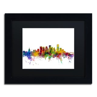 Shop Michael Tompsett Edmonton Canada Skyline Black